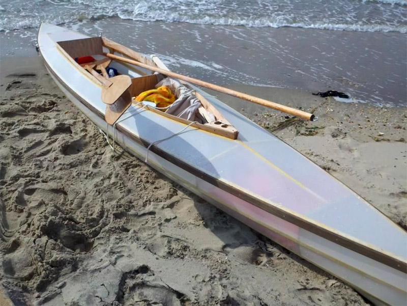Skin\' on Frame 15\' Kayak | The Eli Whitney Museum and Workshop