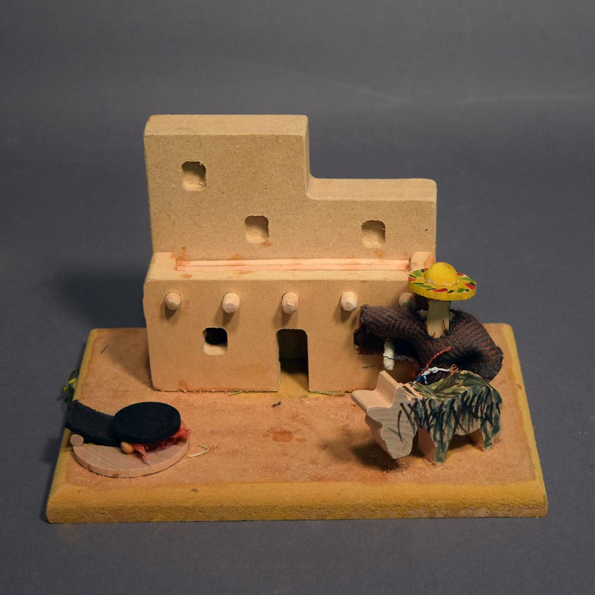 Make pueblo house school project