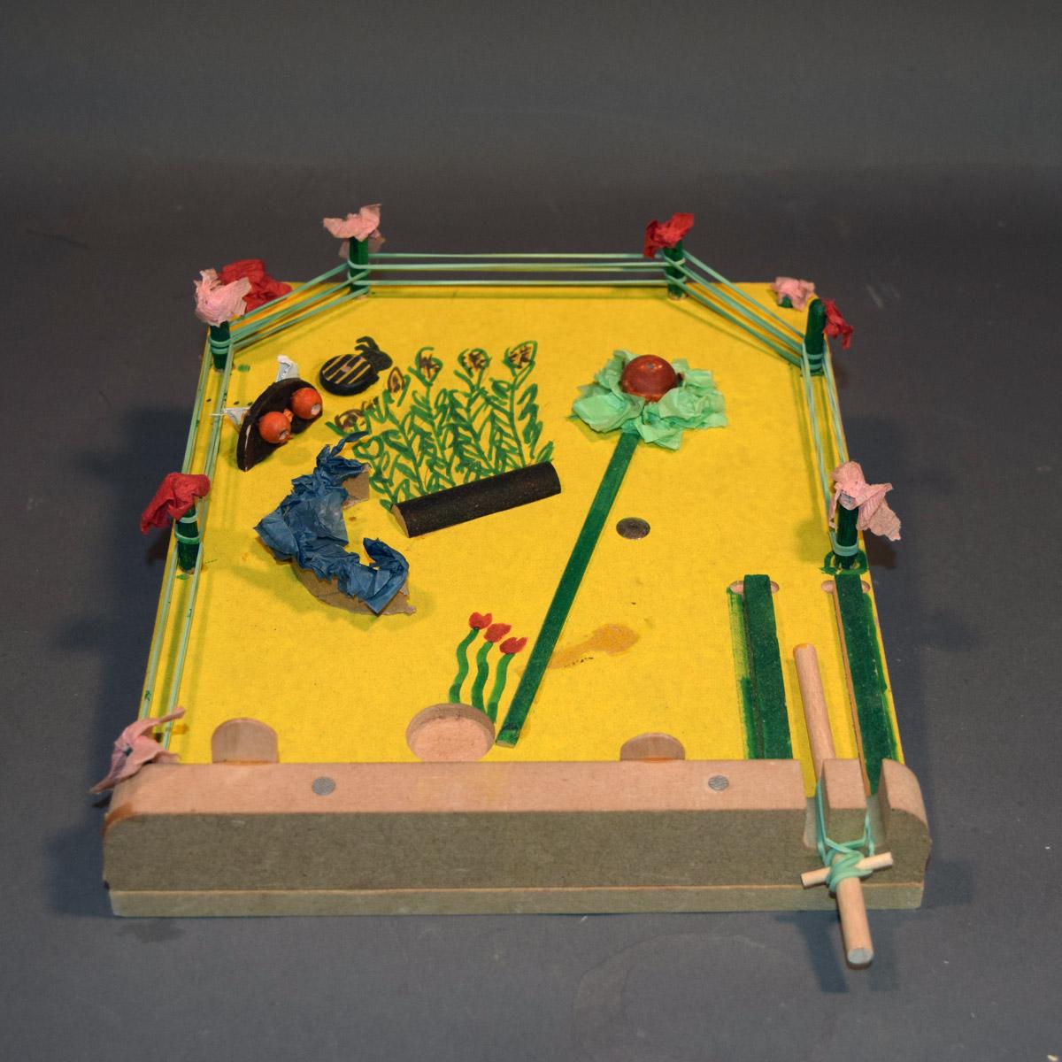 pinball machine science project