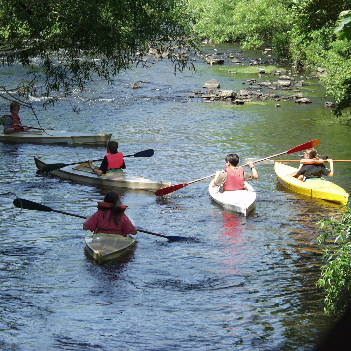 Skin on Frame Kayak | The Eli Whitney Museum and Workshop