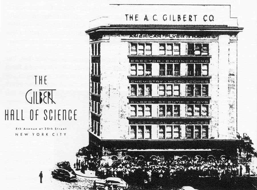 the demise of the a  c  gilbert company