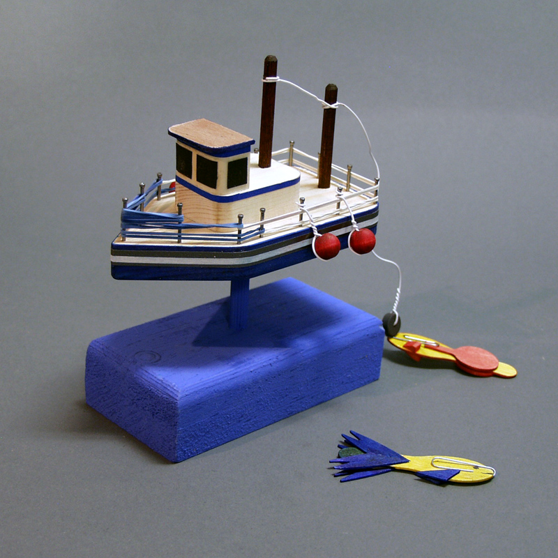 how to make a floating boat for school project