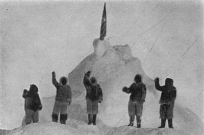 Image result for peary and henson reach the north pole