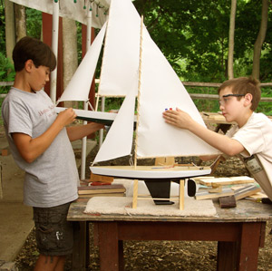 Model Yacht: Star Class | The Eli Whitney Museum and Workshop