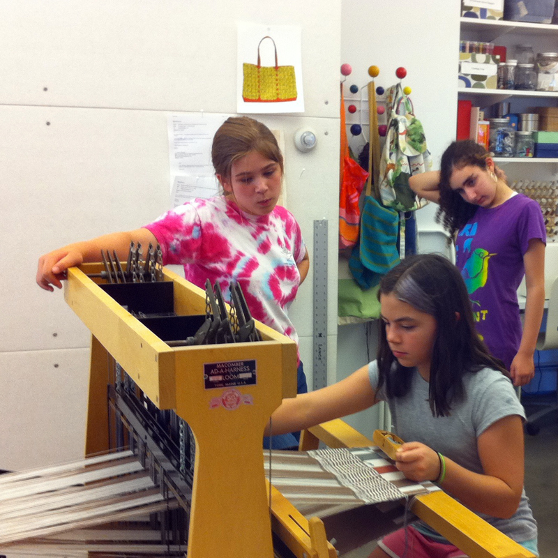 Countermarch Loom & Weaving | The Eli Whitney Museum and Workshop