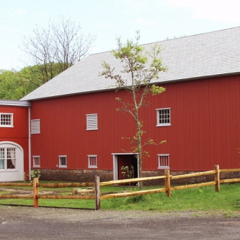 Barn and Paddock