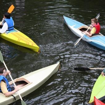 12 Foot Skin Kayak Part 1 of 2