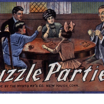 Puzzle Parties by the Mysto M'FG Co.