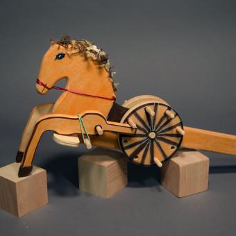 Robot Drum Horse