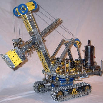 Meccano Steam Shovel