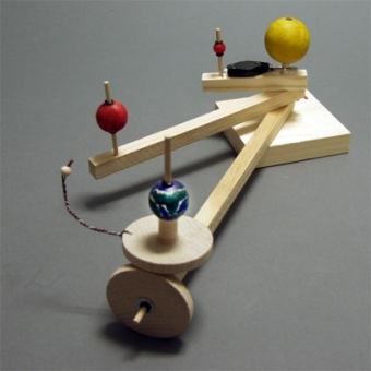 Solar System Model - the Orrery