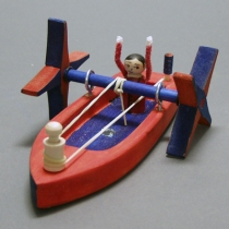 Thumbnail of Leonardo Paddleboat project