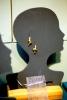 Kiara Matos. <i>Knot Earrings (Gold)</i>