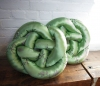 Delari Johnston. <i>Knot Tired (green)</i>