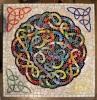 Beth Klingher. <i>Celtic Knot Mosaic Tabletop</i>